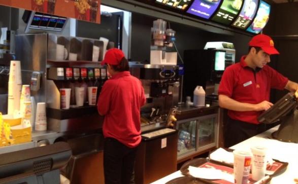 Atendente de fast food