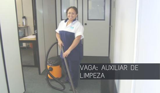 Auxiliar de Limpeza Hospitalar – Sem Experiência – Zona Norte – RJ
